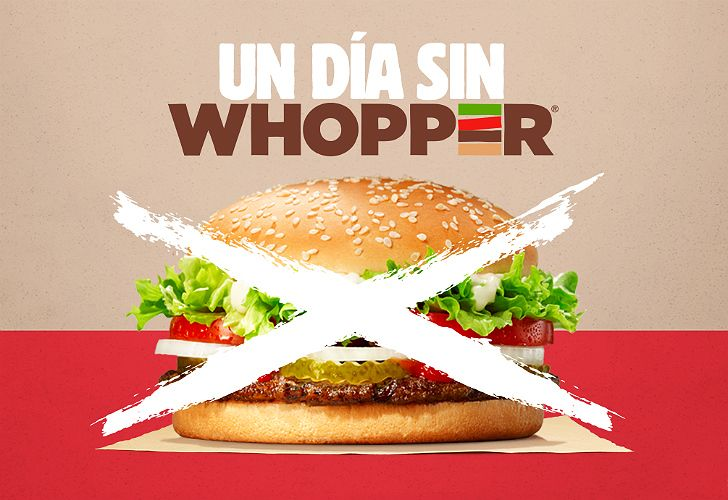Burger King se sumó a la causa solidaria de la competencia