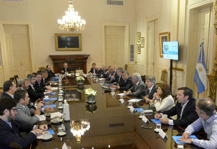 Este martes el Gobierno realizó una reunión de gabinete.