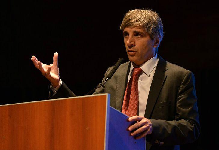 Denuncia contra el ministro de Finanzas, Luis Caputo.