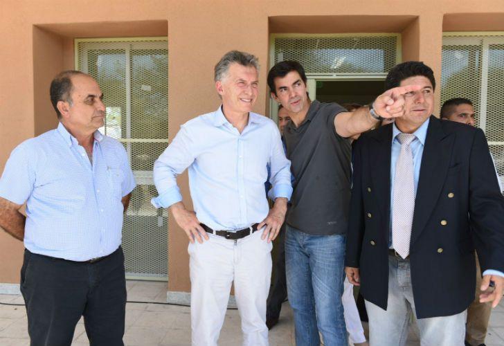Macri viajó a Salta para inaugurar una escuela.