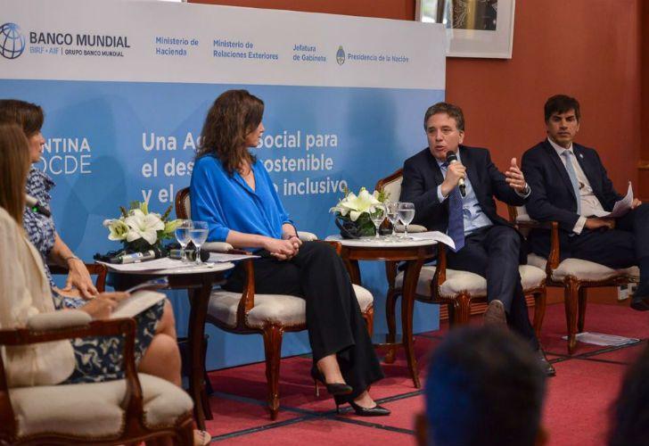 Para Dujovne, el aval de la oposición al ingreso a la OCDE hace que las reformas sean 'irreversibles'.