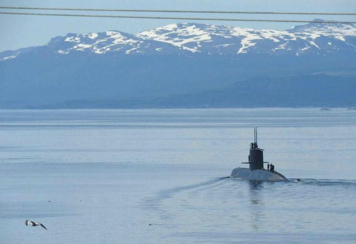 """El Submarino ARA San Juan está desaparecido hace más de 48 horas y ya es buscado en categoría de """"rescate""""."""