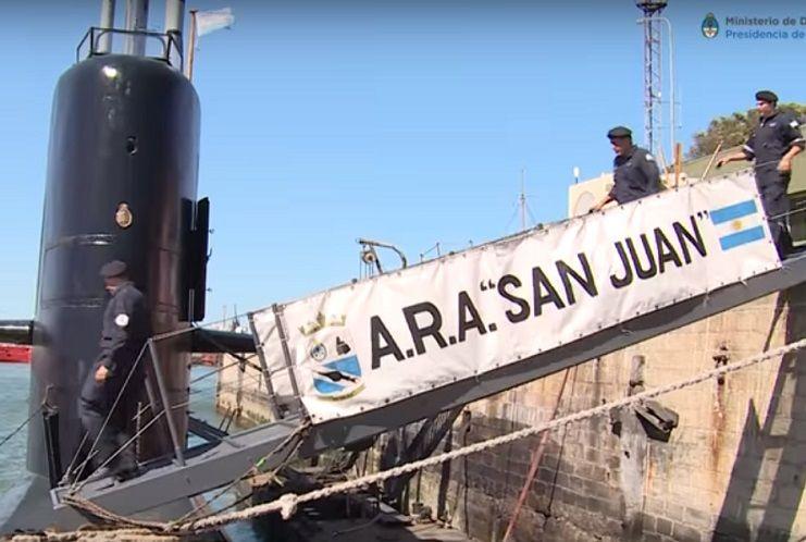 El Submarino Ara-San Juan