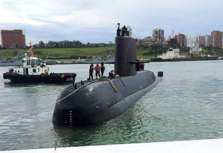 El submarino de la Armada Argentina ARA San Juan.