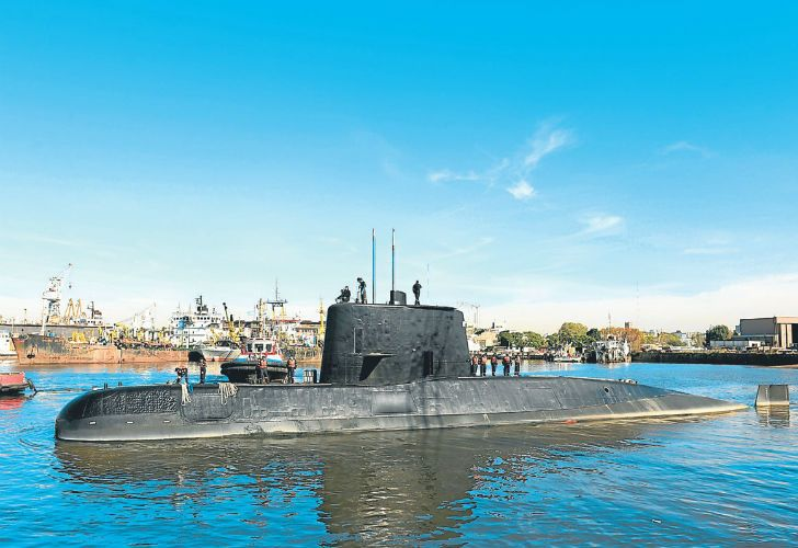 The ARA San Juan submarine has not been heard of since Wednesday.