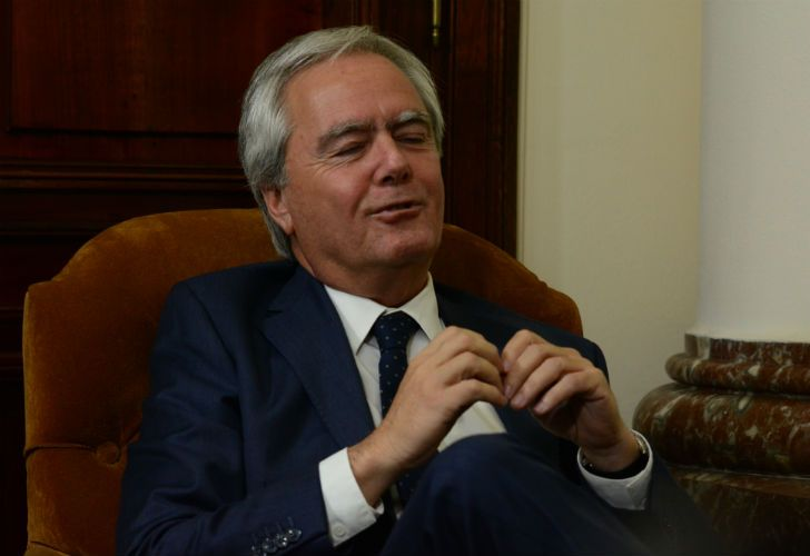 Federico Pinedo, presidente provisional del Senado.