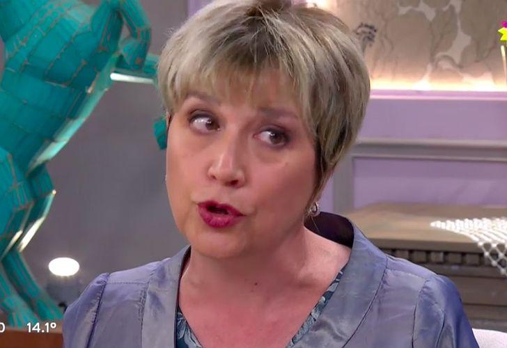 Alessandra Minnicelli, invitada de Mirtha Legrand.