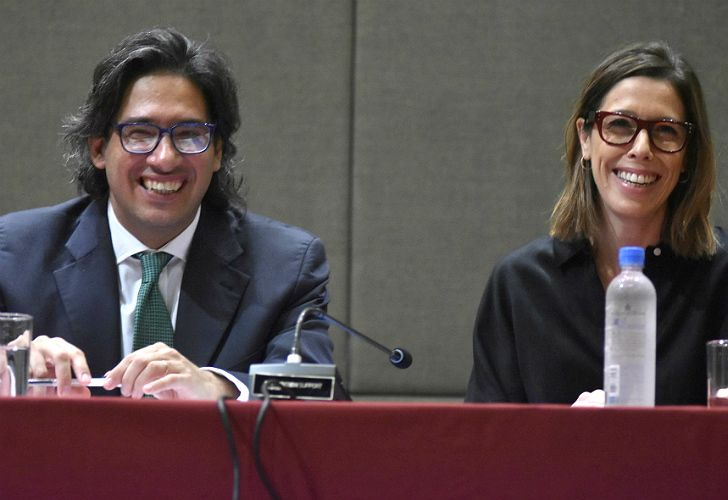 Impulsores. El ministro de Justicia y la titular de la Oficina Anticorrupción. Colabora también el diputado Pablo Tonelli.