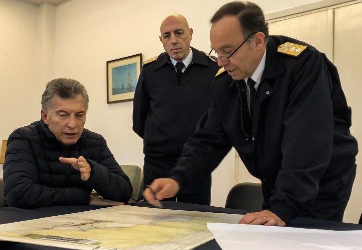 Macri se reunió con familiares de la tripulación del submarino