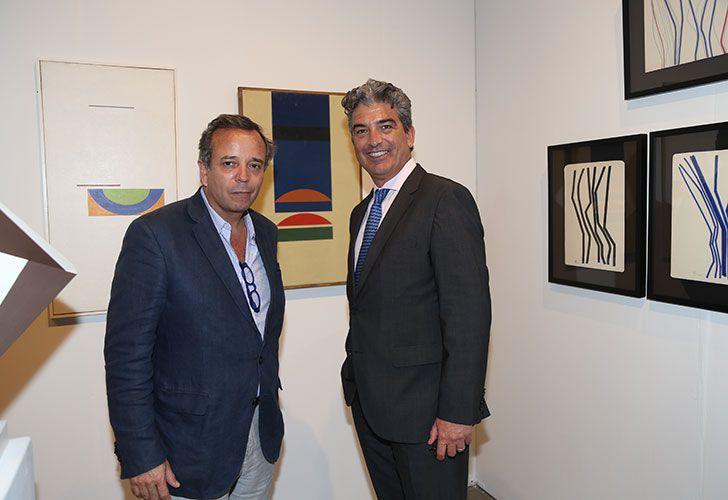 Diego Costapeuser y Carlos Rosso