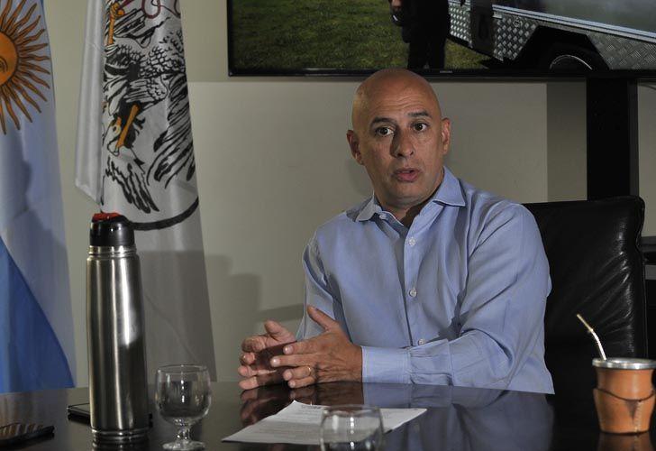El ministro de Seguridad de laCiudad de Buenos Aires dialoga con Perfil