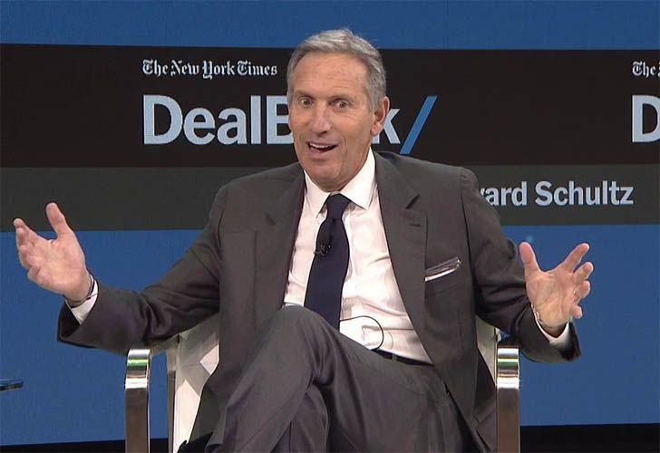 El CEO mundial de Starbucks, Howard Shultz