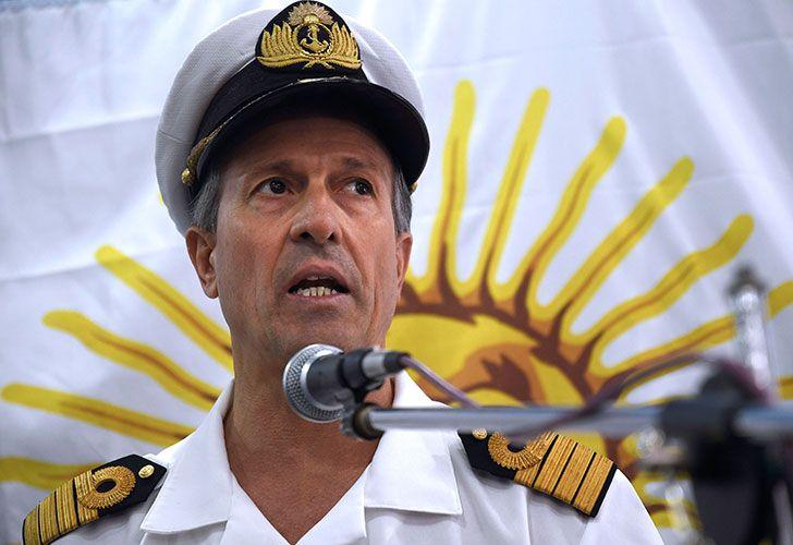 El vocero de la Armada Argentina, Enrique Balbi, aseguró esta mañana que si la institución cometió algún error, no va a dudar en pedir disculpas, al ser consultado sobre la comunicación que mantuvieron con los familiares de los 44 tripulantes del submarino ARA San Juan desaparecido desde hace 9 días en aguas del Atlántico Sur.