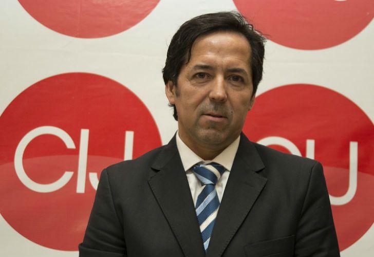 El juez federal Gustavo Villanueva.