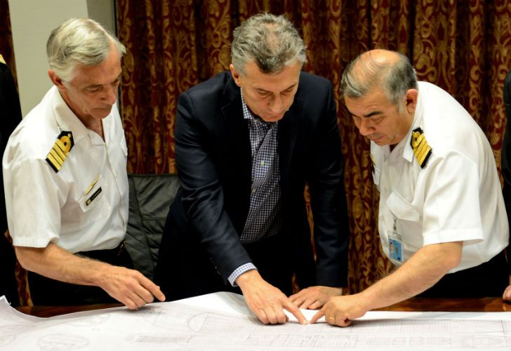 Mauricio Macri quiere modificar la cúpula militar de las Fuerzas Armadas.