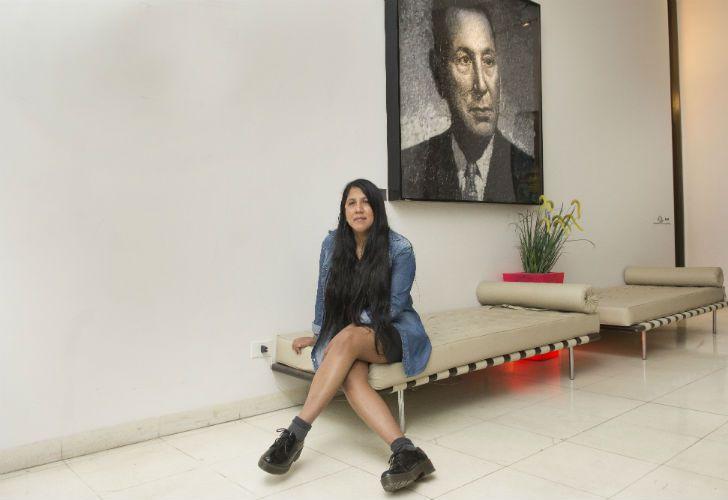La periodista y escritora Gabriela Wiener participa del Festival de No Ficción que se realiza en el Centro Cultural Kirchner.