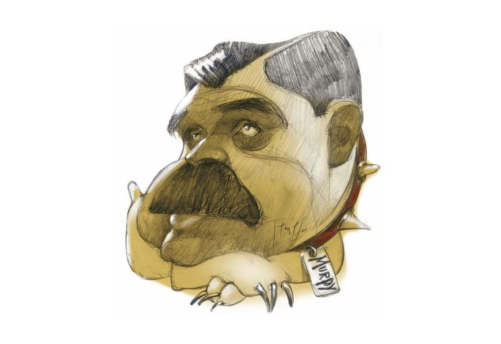 FIEL CUSTODIO Ricardo López Murphy DIBUJO: PABLO TEMES