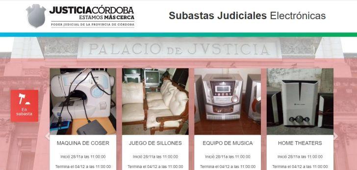 EN LA MIRA. El sitio de subastas judiciales es objeto de resistencias por parte de los martilleros que ejercen en Córdoba.