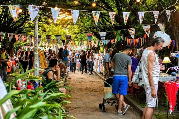 Feria Emprendedora de Sierras Chicas. Una de las propuestas para comprar regalos diferentes.