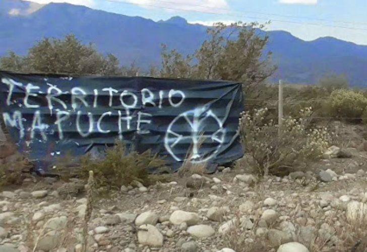 Tierras ocupadas por la Resistencia Ancestral Mapuche (RAM).
