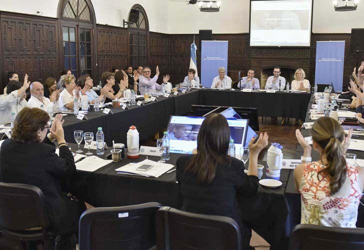 Los Ministros de educación de todo el país discutieron la Secundaria 2030.