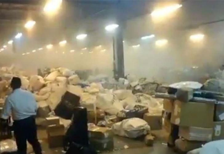 La explosión tuvo lugar en la agencia sede operativa central.