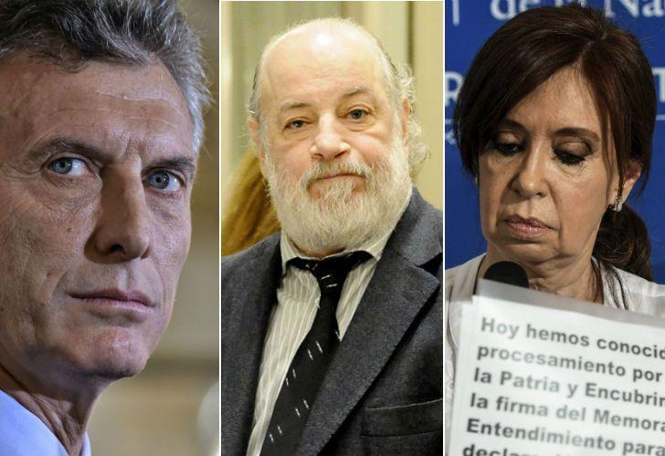 Mauricio Macri y Cristina Kirchner, dos de los afectados por la medida.