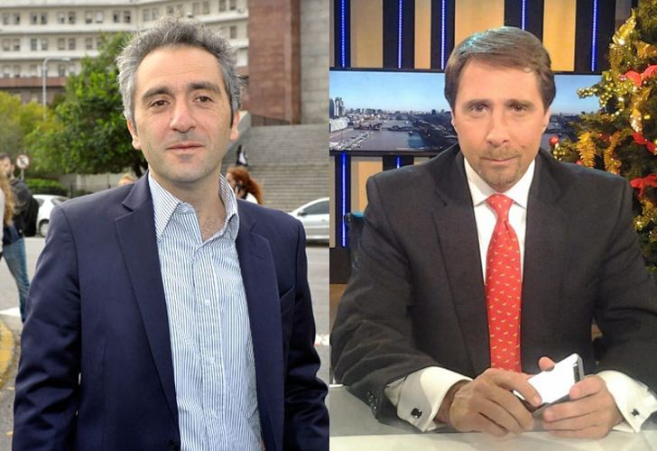 Andrés Cuervo Larroque y Eduardo Feinmann