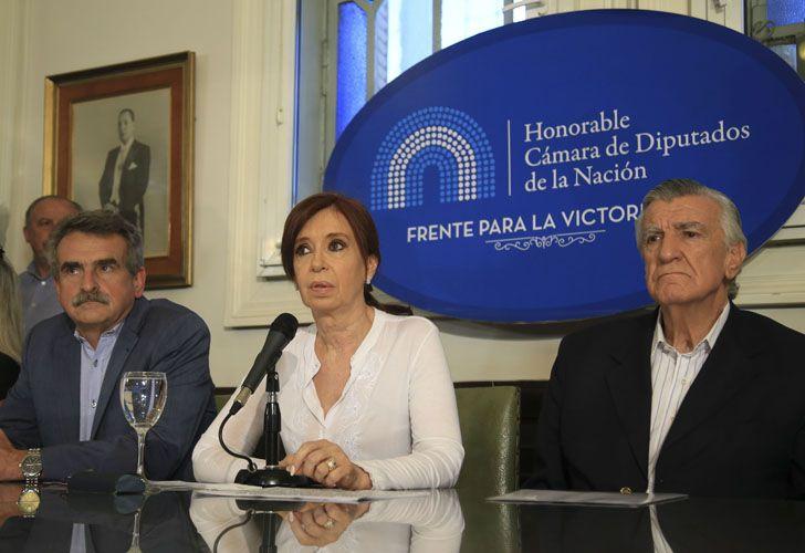 CFK agradeció