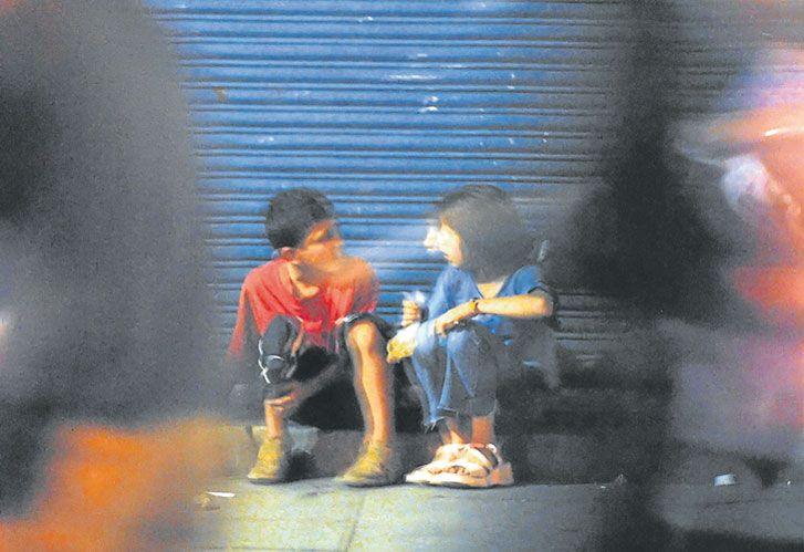 Niños/as. Es es sector de la población más vulnerable a la pobreza extrema.