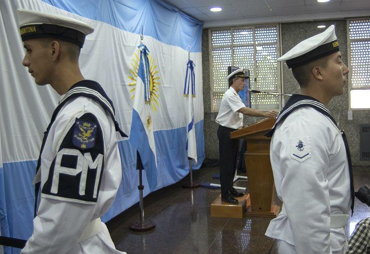 Balbi, en un nuevo parte dominical de la Armada.