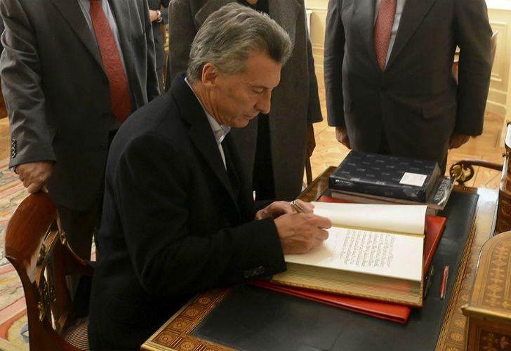 El decreto lleva la firma de Mauricio Macri.