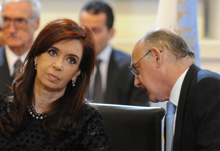 Cristina Fernández de Kirchner y Héctor Timerman