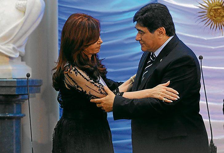 Cristina Fernández de Kirchner junto a Carlos Zannini