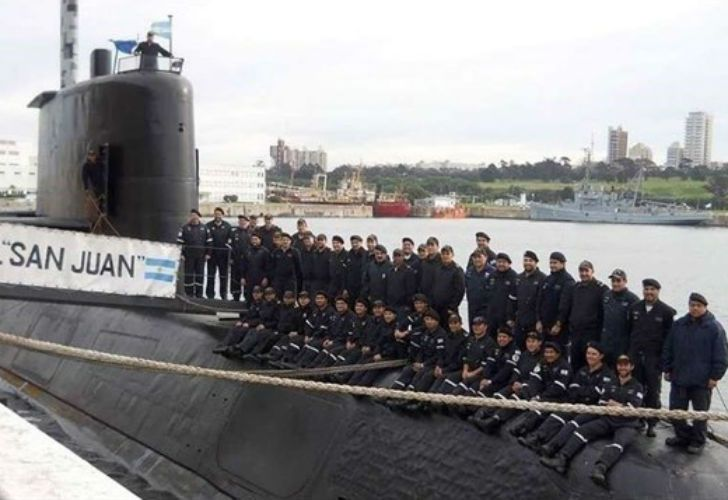 La última imagen del ARA San Juan fue tomada por el suboficial principal Javier Gallardo en el mes de agosto, y publicada por el diario La Capital de Mar del Plata.