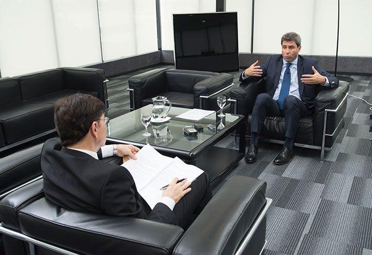 Jorge Fontevecchia entrevistó a Sergio Uñac, gobernador de la provincia de San Juan
