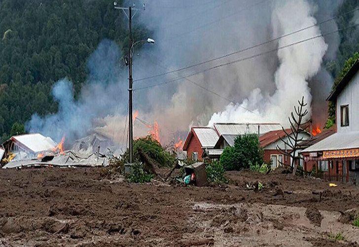 Villa Santa Rita, la zona afecta.