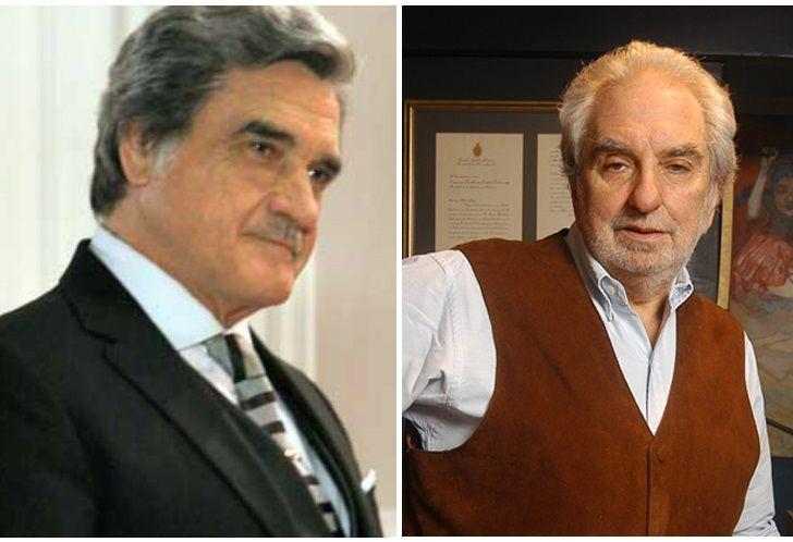 El actor Lito Cruz y el historiador Pacho O'Donnell fueron grandes amigos.