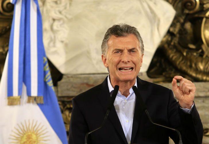 El presidente Mauricio Macri brindó una conferencia de prensa luego de que se aprobara en el Congreso la reforma previsional.