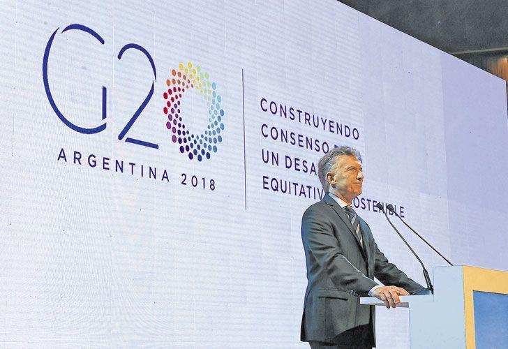 G20. Es una de las obsesiones del Presidente. En noviembre vendrán los principales mandatarios.