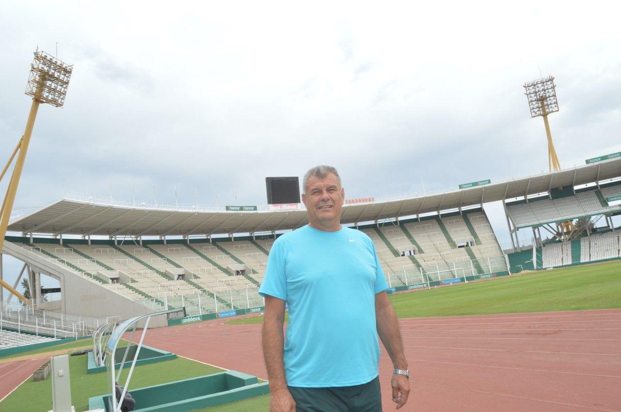 Le pone el lomo. Ligorria lleva adelante su segunda gestión como director de la Agencia Córdoba Deportes.