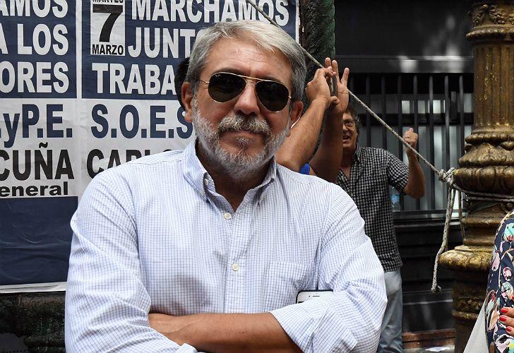 El exjefe de Gabinete, Aníbal Fernández.