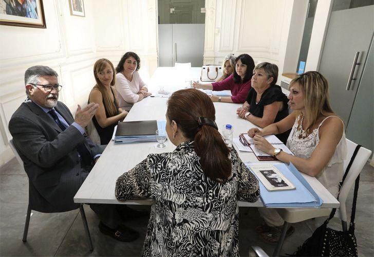 Cristina recibió a senadores de su bloque en el Instituto Patria