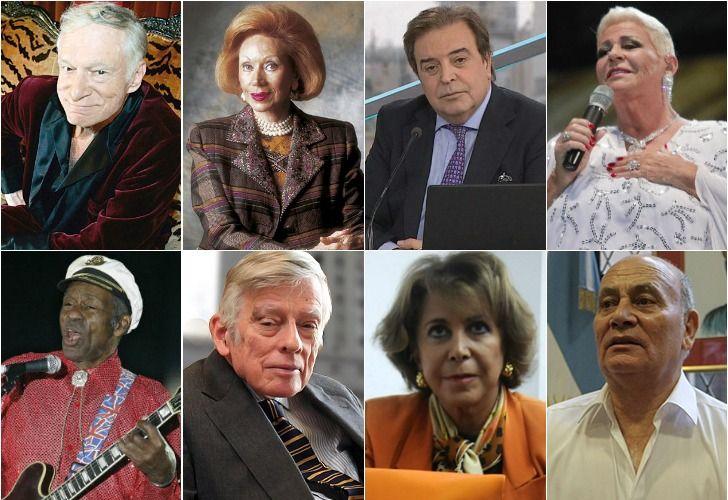 Las personalidades que fallecieron en 2017.