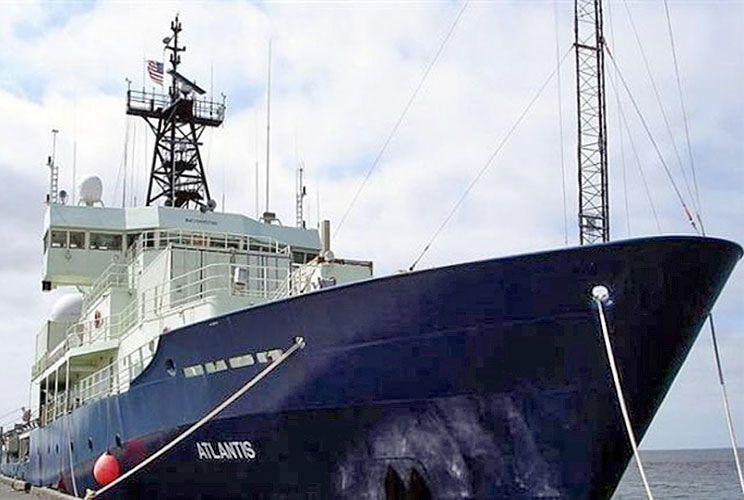 Atlantis. El buque estadounidense ya partió hacia su país.