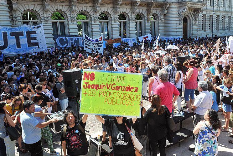 Debate. Los gremios docentes exigen al Gobierno que los convoque a participar de la discusión.