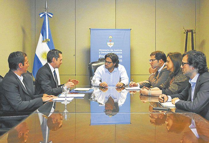 Garavano. El ministro presentó una iniciativa, que se encuentra en la Comisión de Justicia del Senado.