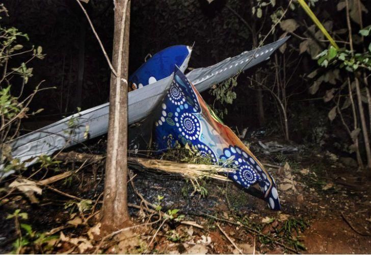 Se estrelló una avioneta en Costa Rica.