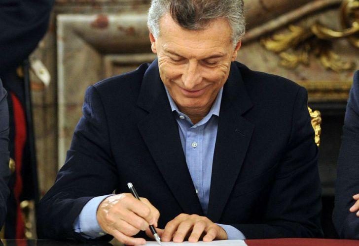 Imagen de carácter ilustrativo | El presidente Mauricio Macri firmó los decretos que fueron publicados en el Boletín Oficial.