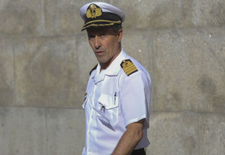 El portavoz de la Armada Argentina, Enrique Balbi.